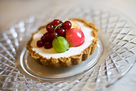 Tahitian Vanilla Tart with Summer Fruits & Sweet Wine Glaze | Zen Can ...