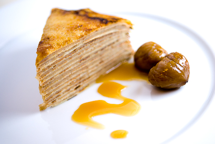 Chestnut Crepe Cake | Zen Can Cook