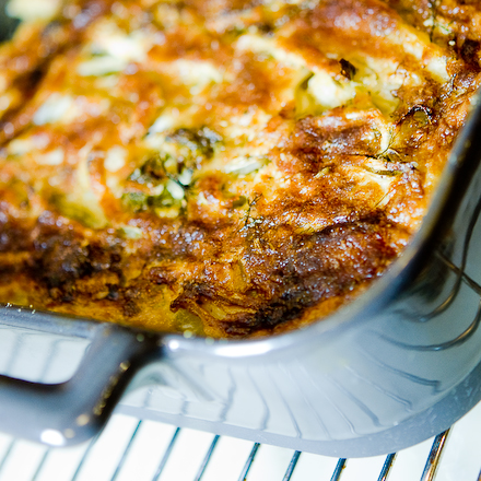 Fennel-Pastrami Gratin by Zen Can Cook