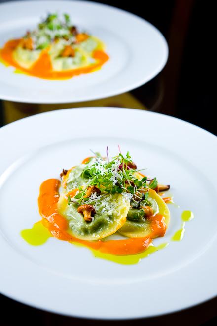 Herb Ravioli With Chanterelles Zen Can Cook