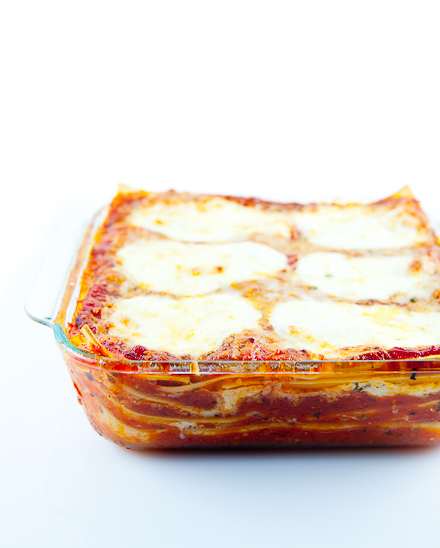 Four Cheese Lasagna Recipe Zen Can Cook