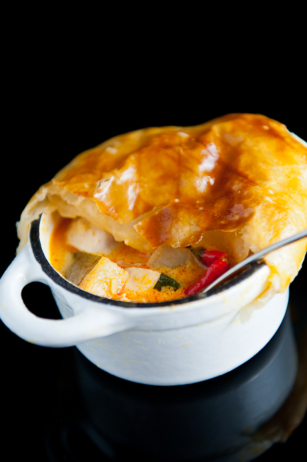 thai curry chicken pot pie serves 6 for the thai curry chicken pot pie ...