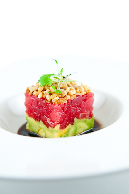 ... tuna tartare with cucumber salad and avocado asian tuna tartare recipe