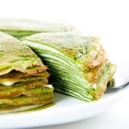 Green Tea Mille-Crêpes