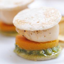 Mini Scallop Burger (Foodmeover)