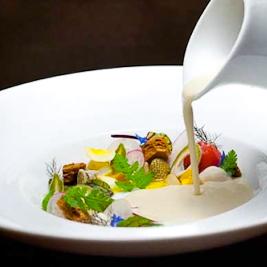 White Orchid Root Gazpacho (Ken Oringer via Starchefs)