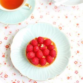 Tarte Passion Framboise (Passionfruit Raspberry Tart)