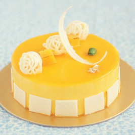 Mango Cheese Entremet