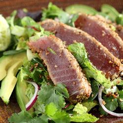 Sesame Seared Ahi Tuna Salad