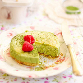 Matcha au Lait Cheesecake