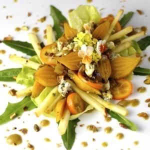 Resplendent Baby Golden Beet Salad
