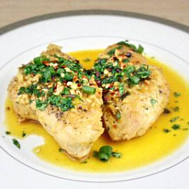 Chicken with Orange Sauce