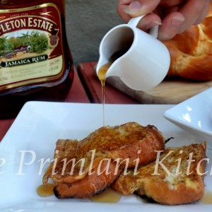 French Toast with Spiced Rum