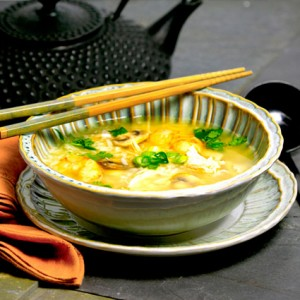 Vietnamese Rice Soup