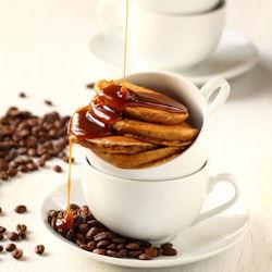 Caramel Latte Pancakes