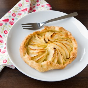 Apple-Frangipane Galettes