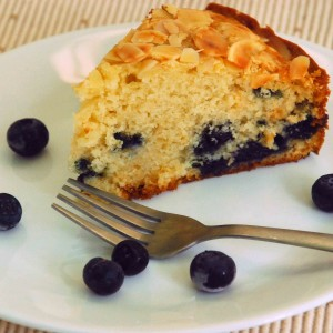 Blueberry White Chocolate Coffee Cake