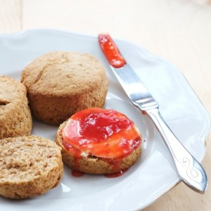 30min wholemeal cream scones