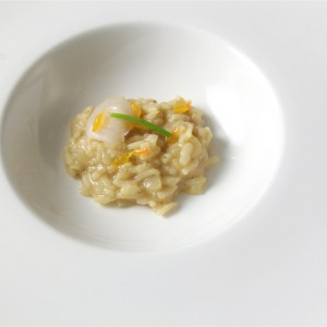 Geoduck Risotto