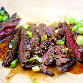 Korean-Style Grilled Skirt Steak