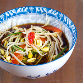 Bean sprout soup