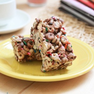 Chocolate Cheerio Krispie