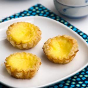 Chinese egg tarts