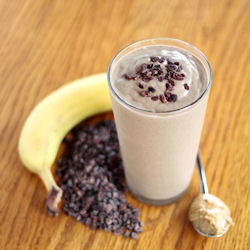 Chocolate Banana &amp; PB Smoothie