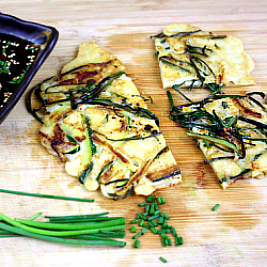 Pajeon (Korean Scallion Pancakes)