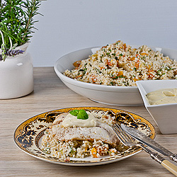 Snapper & Cauliflower Couscous