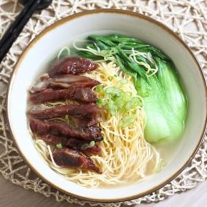 Char Siu Noodle Soup