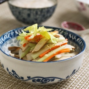 Dried Bean Curd with Celery