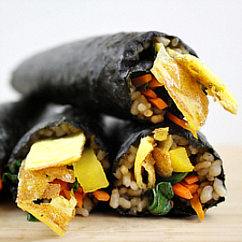 Vegetable Gimbap/Kimbap
