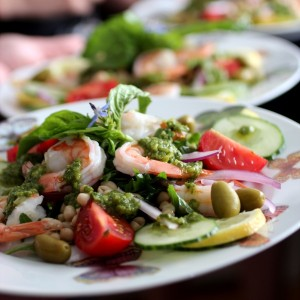 Garden Party Shrimp Salad