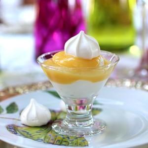 Limoncello Lemon-Curd Yogurt Parfait