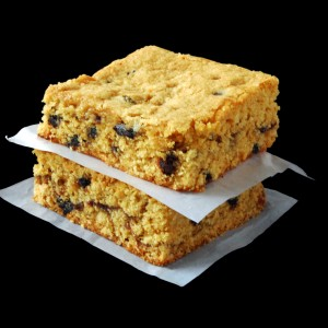 Peanut Butter and Jam Blondies