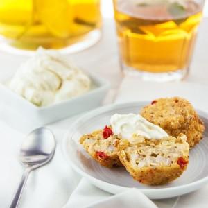 Buckwheat-Quinoa veggie muffins