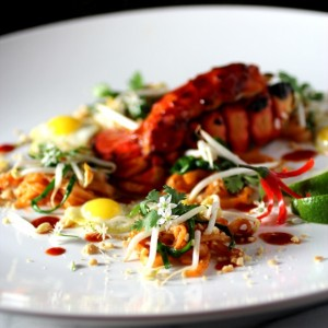 Lobster Pad Thai ~ Deconstructed