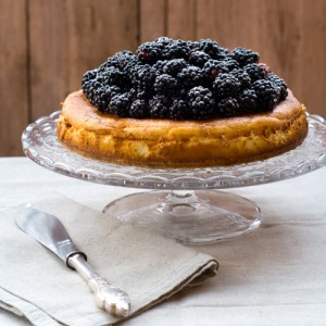 Blackberry Ricotta Cheesecake