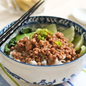 Taiwanese Minced Pork Sauce over Rice