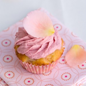 Ispahan Cupcakes