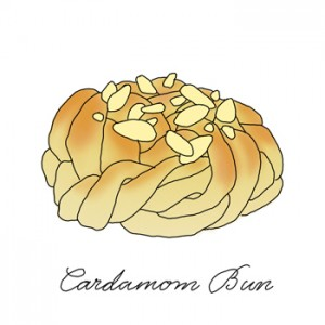 Cardamom Bun