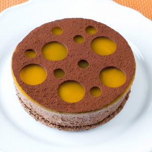 Chocolate Mousse - Passion Fruit Cake