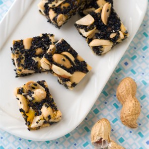 Peanut and Black Sesame Candy