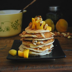 Almond Milk Pancakes