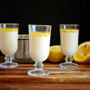 Passion Fruit Panna Cotta