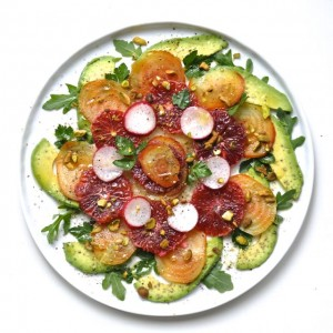 Blood Orange-Avocado-Beet Salad