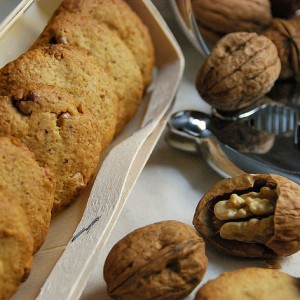 Walnut Shortbread