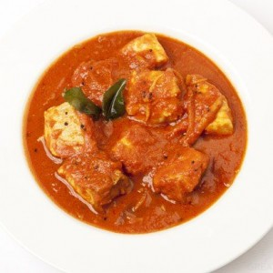 Spiced Monkfish Curry