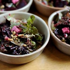 Pickled Beetroot & Feta salad